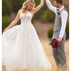 Petite Essence of Australia Boho wedding dress
